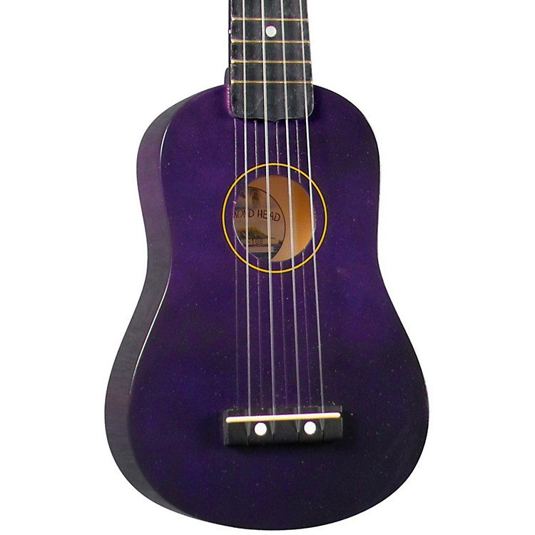 Diamond Head DU-10 Soprano Ukulele Brown Black Fingerboard