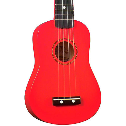 Diamond Head DU-10 Soprano Ukulele Red Black Fingerboard