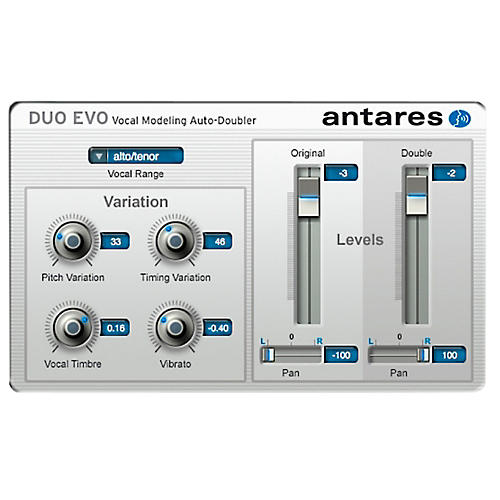 Antares DUO Evo (VST/ AU/ RTAS) Software Software Download-thumbnail