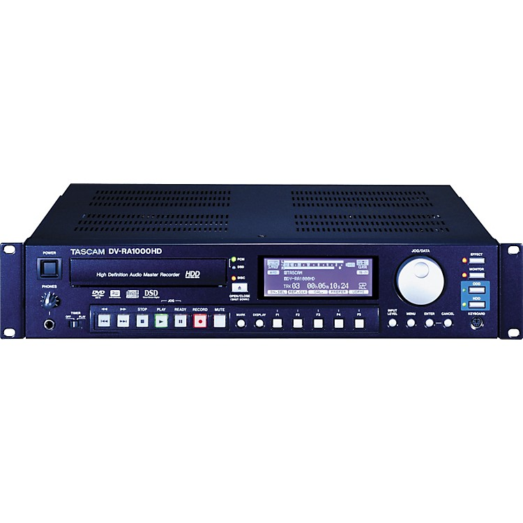 TASCAM DV-RA1000HD High-Definition Recorder