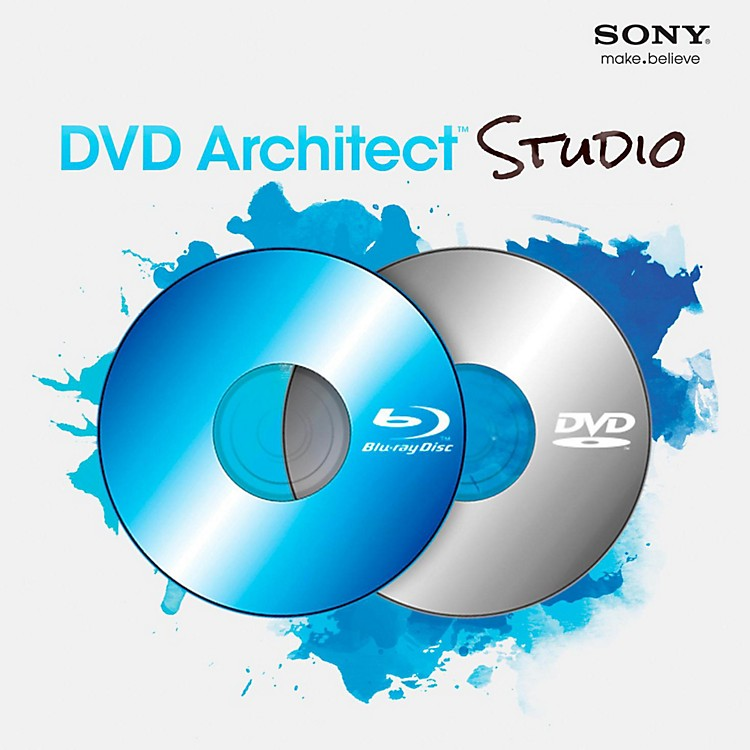 Sony DVD Architect Studio 5.0 Software Download