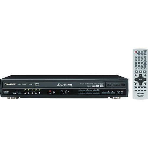 Panasonic DVD-F87S 5-Disc DVD Changer with Progressive Scan-thumbnail