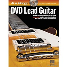 Hal Leonard DVD Lead Guitar - At a Glance Series (Book/DVD)