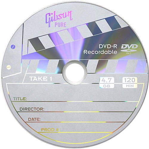 Gibson DVD-R Media-thumbnail