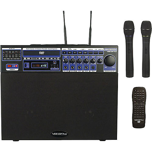 VocoPro DVD-Soundman Portable 4-Channel System with 2 Wireless Mics-thumbnail