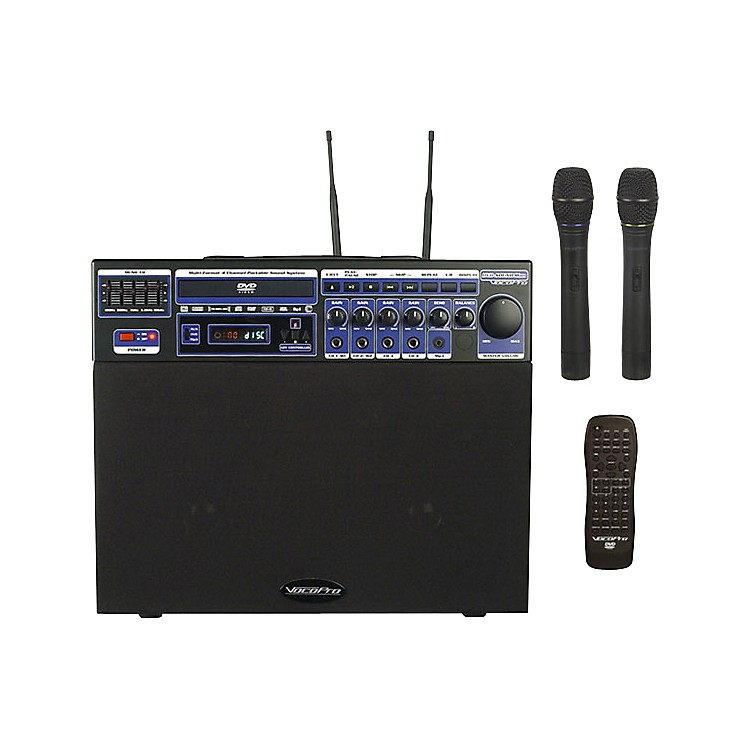 VocoProDVD-Soundman Portable 4-Channel System with 2 Wireless Mics