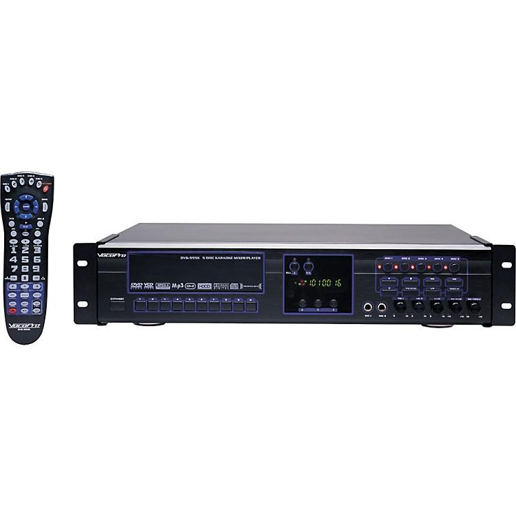 VocoProDVG-555K 5-Disc DVD/CDG/VCD/MP3/MP4/Photo-CD Karaoke Changer