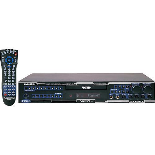 VocoPro DVG-888K-II Multi format Karaoke Player