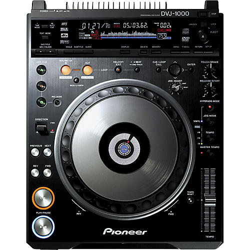 Pioneer DVJ-1000 Professional DVD Turntable-thumbnail