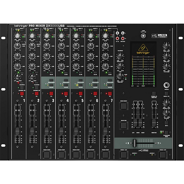 BehringerDX2000USB Pro 7-Channel DJ Mixer