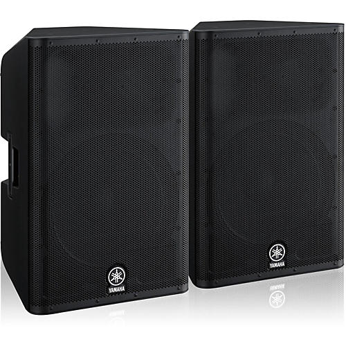 Yamaha dxr15 speaker pair musician 39 s friend for Yamaha 15 speakers