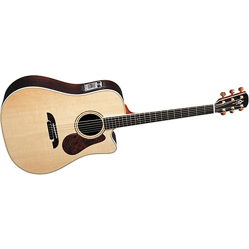 Alvarez DYM95C Yairi Masterworks Cutaway Dreadnought Acoustic-Electric Guitar-thumbnail