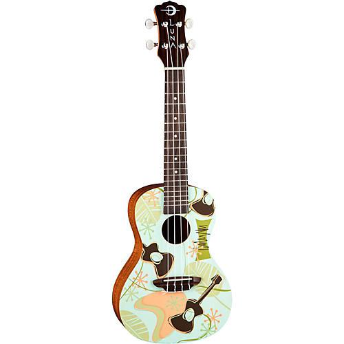 Luna Guitars Daddy-O Concert Ukulele
