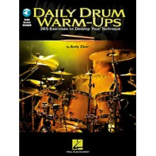 Hal Leonard Daily Drum Warm-Ups - 365 Exercises To Develop Your Technique (Book/CD)