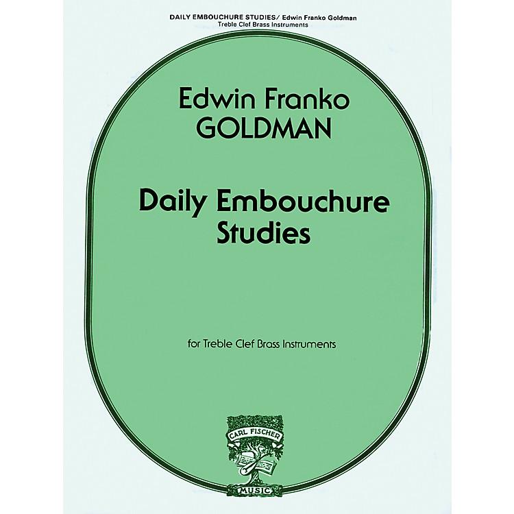 Carl FischerDaily Embouchure Studies for Treble Clef Brass Instruments by E.F. Goldman