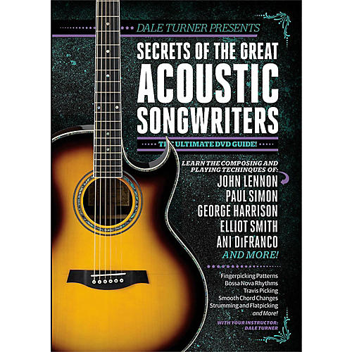 Guitar World Dale Turner Presents Secrets of the Great Acoustic Songwriters DVD-thumbnail