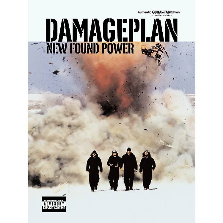 AlfredDamageplan New Found Power Guitar Tab Songbook
