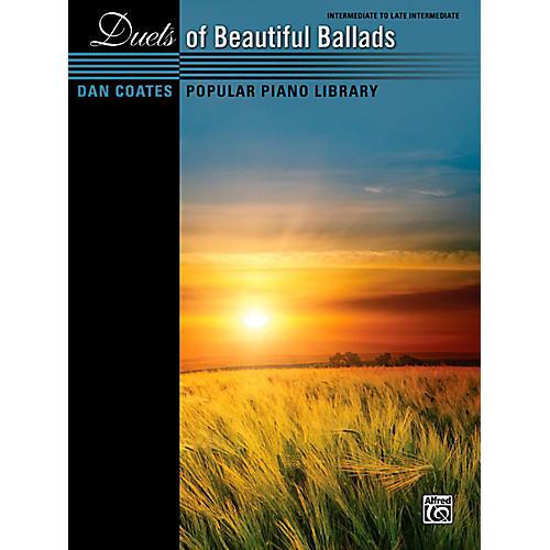 Alfred Dan Coates Popular Piano Library Duets of Beautiful Ballads Book-thumbnail