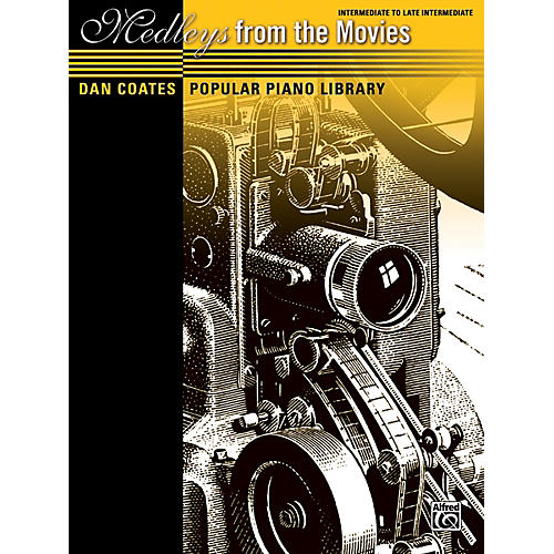 Alfred Dan Coates Popular Piano Library: Medleys from the Movies Book