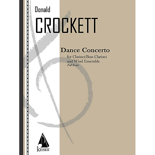 Lauren Keiser Music Publishing Dance Concerto LKM Music Series Softcover Composed by Donald Crockett-thumbnail
