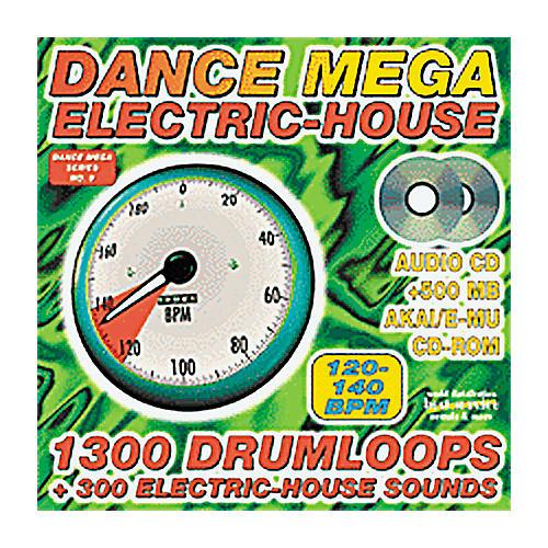 EastWest Dance Mega Electric-House Audio CD and AKAI/E-MU Sample CD-ROM