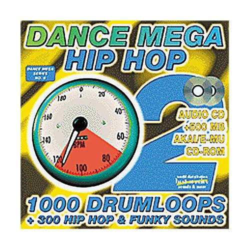 EastWest Dance Mega Hip Hop 2 Audio CD and Akai/E-MU Sample CD-ROM