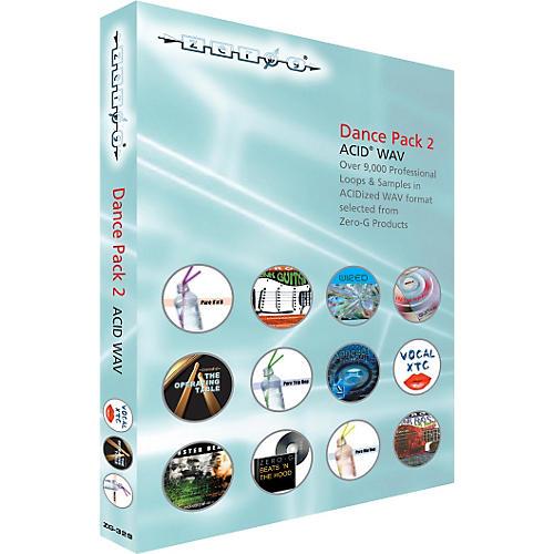 Zero G Dance Pack 2 ACID WAV Sample Library (2 DVD Set)