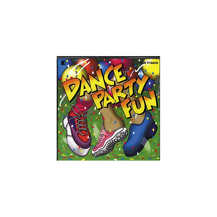 Kimbo Dance Party Fun Dvd