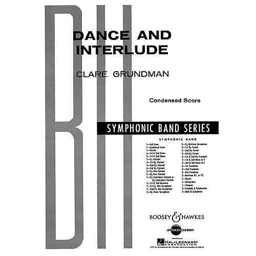 Boosey and Hawkes Dance and Interlude Concert Band Composed by Clare Grundman-thumbnail