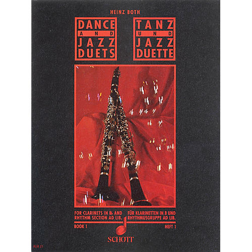 Schott Dance and Jazz Duets - Volume 1 Schott Series Softcover Composed by Heinz Both-thumbnail