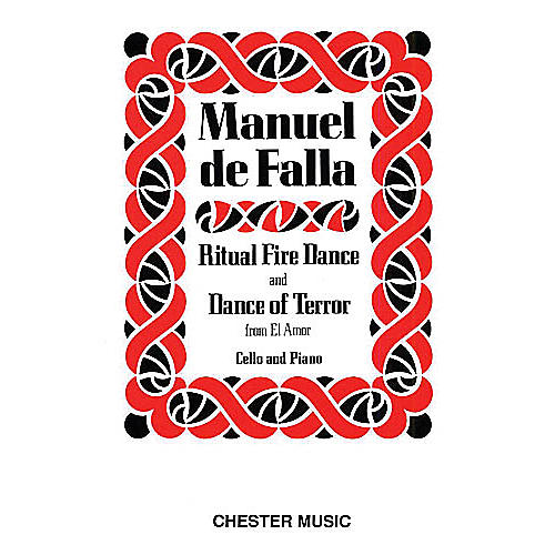 Chester Music Dance of Terror and Ritual Fire Dance (El Amor Brujo) (Cello & Piano) Music Sales America Series-thumbnail
