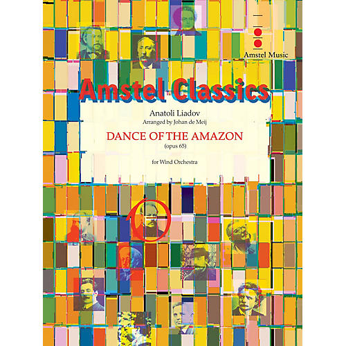 Amstel Music Dance of the Amazon Concert Band Level 3 Arranged by Johan de Meij-thumbnail
