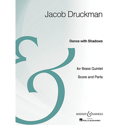Boosey and Hawkes Dance with Shadows (Brass Quintet Archive Edition) Boosey & Hawkes Chamber Music Series by Jacob Druckman-thumbnail