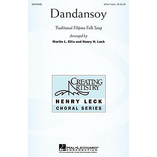 Hal Leonard Dandansoy 3 Part Treble arranged by Henry Leck