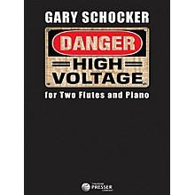 Carl Fischer Danger: High Voltage - Flute Duet with Piano
