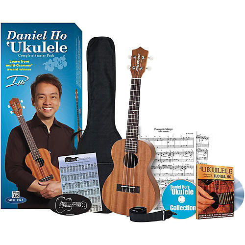 Alfred Daniel Ho Ukulele Complete Starter Pack-thumbnail