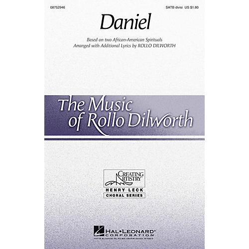 Hal Leonard Daniel SATB Divisi arranged by Rollo Dilworth-thumbnail