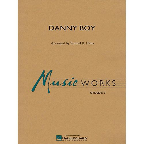 Hal Leonard Danny Boy Concert Band Level 3 Arranged by Samuel R. Hazo