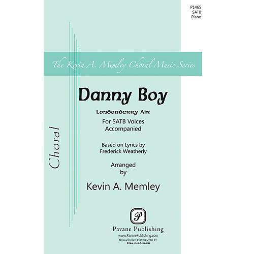 Pavane Danny Boy SATB arranged by Kevin Memley-thumbnail