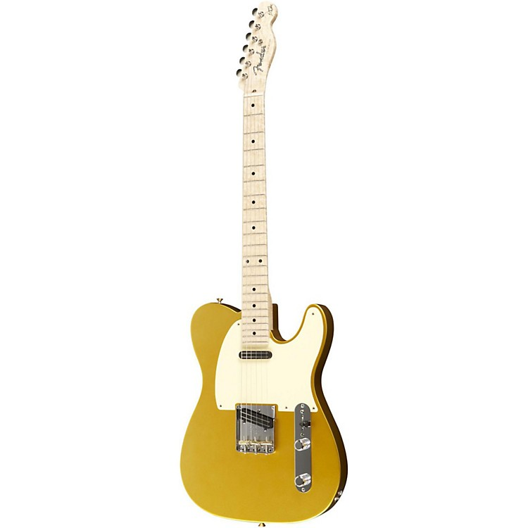 Fender Custom Shop Danny Gatton Telecaster Electric Guitar Frost Gold Maple Fretboard
