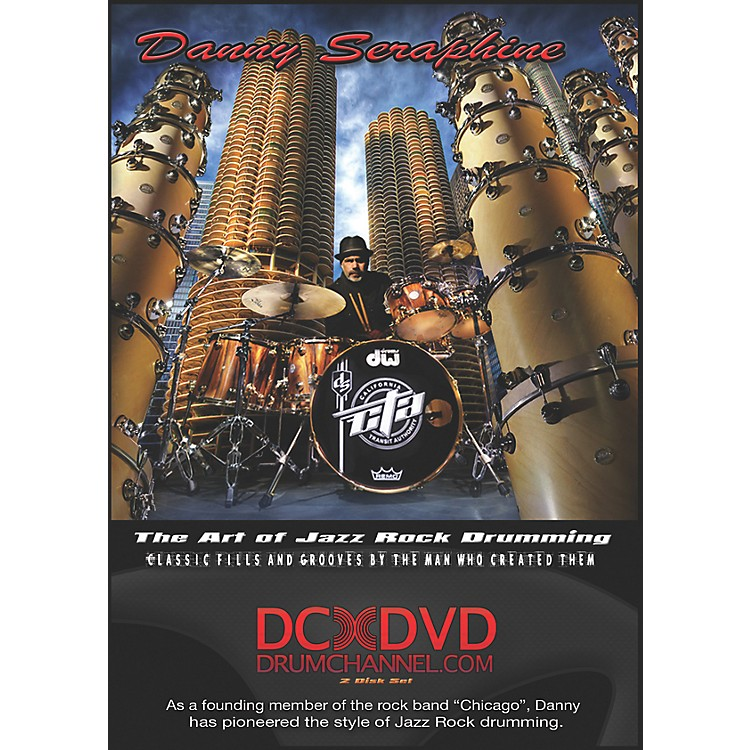 The Drum ChannelDanny Seraphine - The Art of Jazz Rock Drumming 2 DVDs