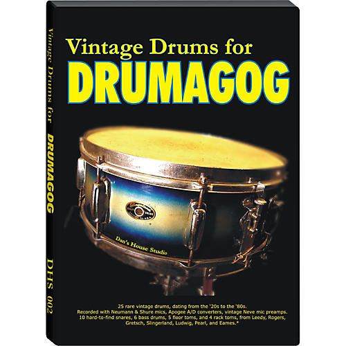 Wave machine labs dan 39 s house vintage drums collection for Classic house drums
