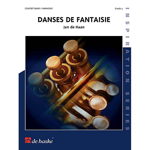 Hal Leonard Danses De Fantaisie Score Only Concert Band