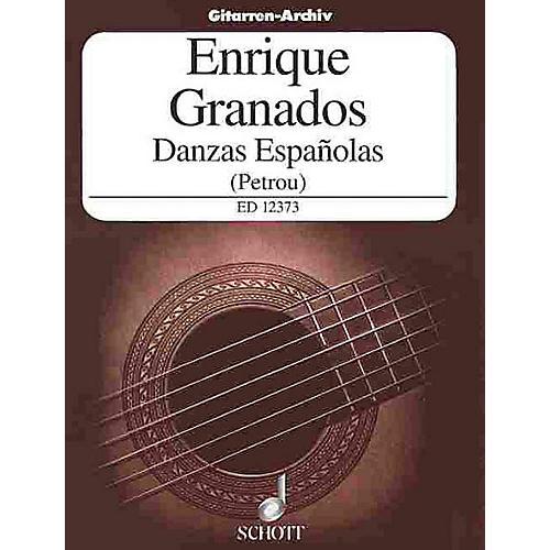 Schott Danzas Españolas (Guitar Solo) Schott Series-thumbnail