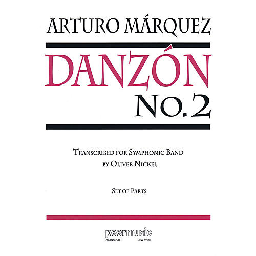 Peer Music Danzón No. 2 Concert Band Level 4 Composed by Arturo Marquez-thumbnail