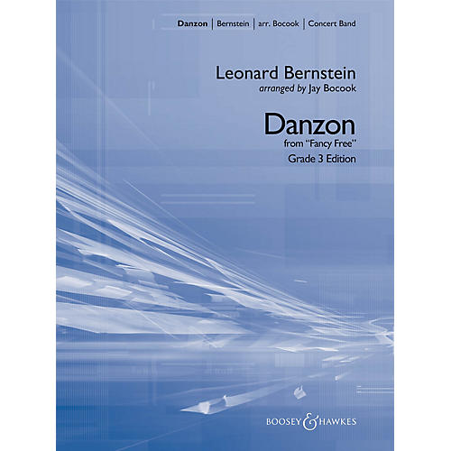 Boosey and Hawkes Danzon (from Fancy Free) Concert Band Level 3 Composed by Leonard Bernstein Arranged by Jay Bocook-thumbnail