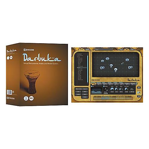 Wizoo Darbuka Arabic and Middle Eastern Virtual Percussionist