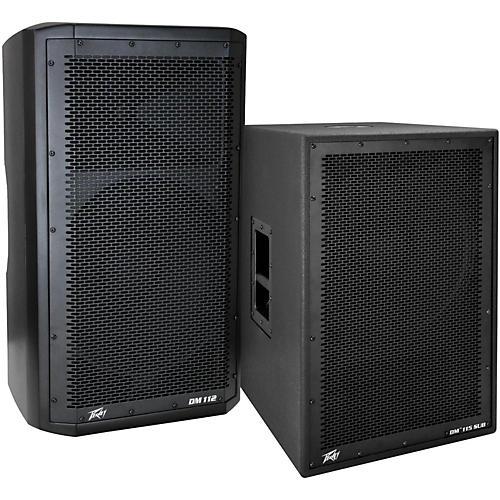 Peavey Dark Matter DM 112 Powered Speaker and DM115 Sub-thumbnail