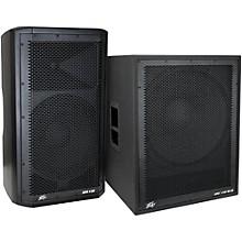 Peavey Dark Matter DM 112 Powered Speaker and DM118 Sub