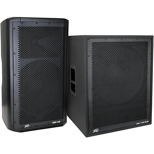 Peavey Dark Matter DM 112 Powered Speaker and DM118 Sub-thumbnail